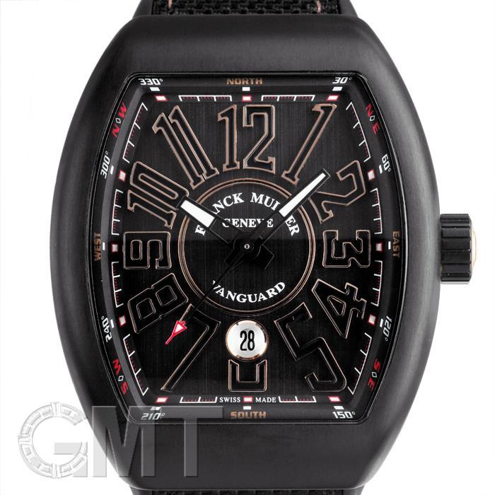フランク・ミュラー ヴァンガード ブラック V45 SC DT TT NR BR 5N FRANCK MULLER 新品メンズ 腕時計 送料無料