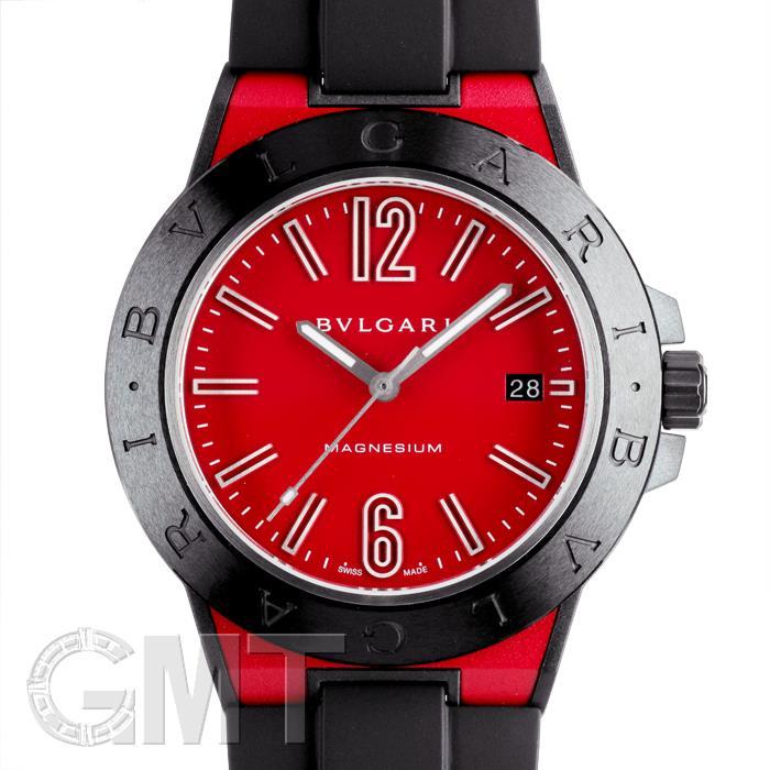 ブルガリ ディアゴノ マグネシウム DG41C9SMCVD/SP レッド BVLGARI 【新品】【メンズ】 【腕時計】 【送料無料】 【あす楽_年中無休】