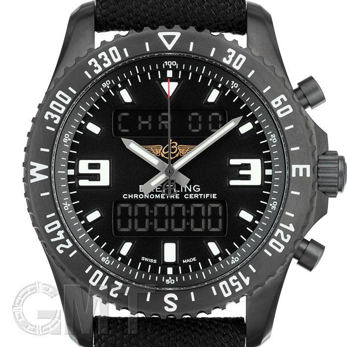 ブライトリング プロフェッショナル クロノスペース ミリタリー M787B-1MMA ブラック ナイロンベルト BREITLING 【新品】【メンズ】 【腕時計】 【送料無料】 【あす楽_年中無休】