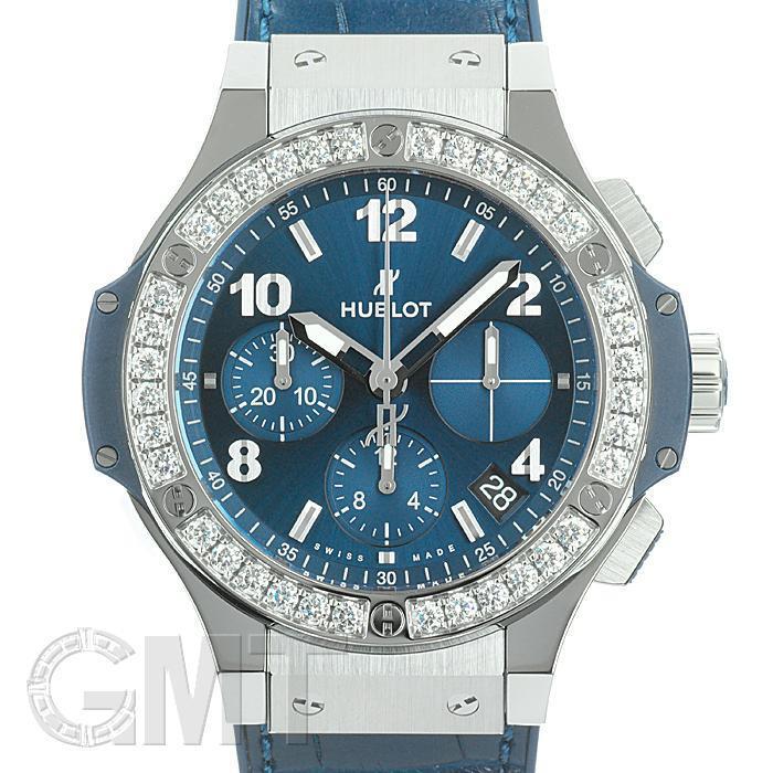ウブロ ビッグバン スチール ブルー ダイヤモンド 41 mm 341.SX.7170.LR.1204 HUBLOT 【新品】【メンズ】 【腕時計】 【送料無料】 【あす楽_年中無休】