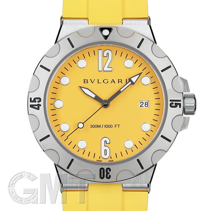 ブルガリ ディアゴノ プロ スクーバ DP41C10SVSD イエロー BVLGARI 【新品】【メンズ】 【腕時計】 【送料無料】 【あす楽_年中無休】