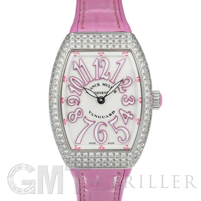 フランクミュラー ヴァンガード V29QZ シルバーピンク ダイヤモンド FRANCK MULLER 【新品】【レディース】 【腕時計】 【送料無料】 【あす楽_年中無休】