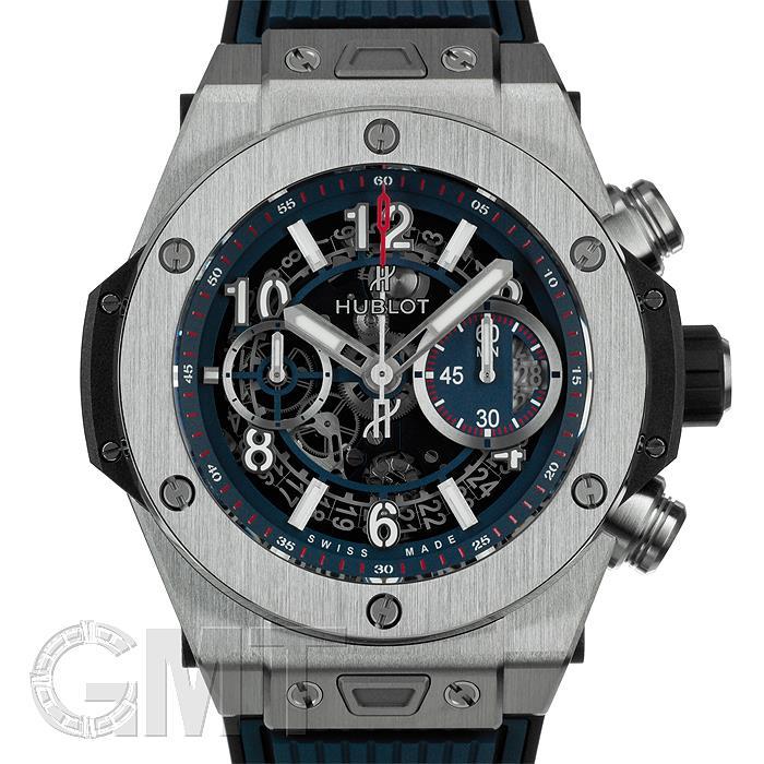[最大3万円引き! 5/1]ウブロ ビッグバン ウニコ チタニウム ブルー 411.NX.5179.RX HUBLOT 新品メンズ 腕時計 送料無料