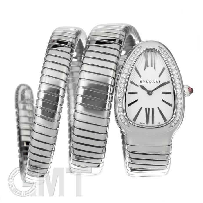 ブルガリ セルペンティ SP35C6SDS.2T シルバー ダイヤベゼル BVLGARI 新品レディース 腕時計 送料無料 お買い得 送料無料 法要