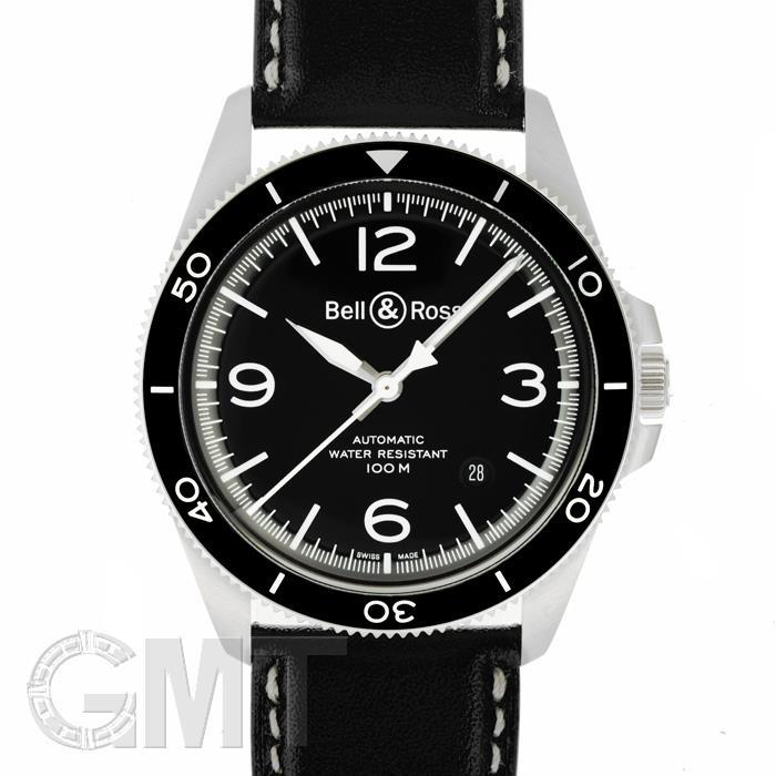 ベル&ロス ヴィンテージ BR V2-92 ブラック スティール BRV292-BL-ST/SCA※ BELL & ROSS 新品メンズ 腕時計 送料無料