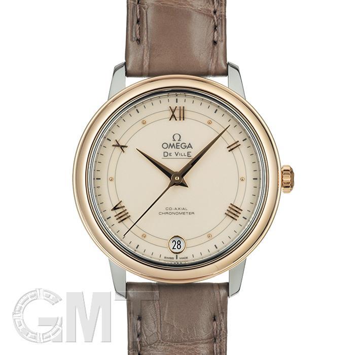 オメガ デ・ヴィル プレステージ 424.23.33.20.09.001 アイボリー OMEGA 新品レディース 腕時計 送料無料