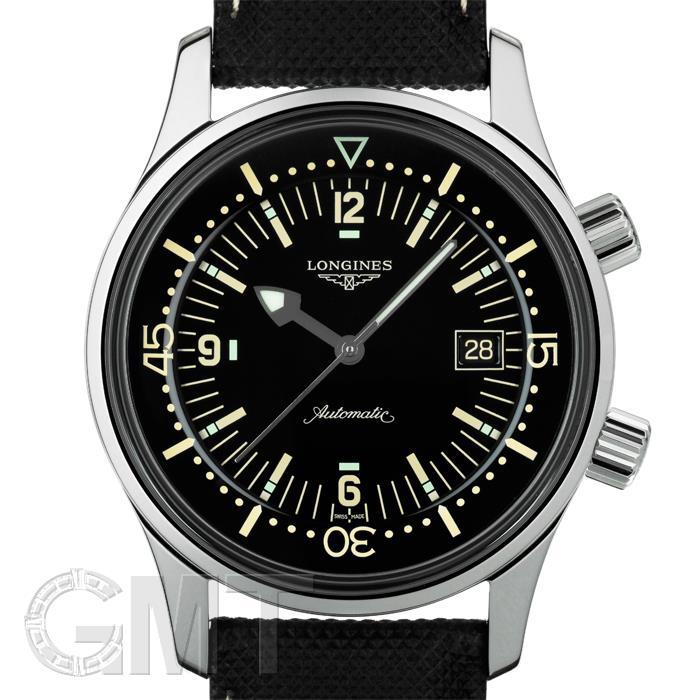[最大3万円引き! 5/1]ロンジン レジェンド ダイバー L3.774.4.50.0 LONGINES 新品メンズ 腕時計 送料無料