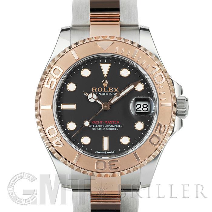 ロレックス ヨットマスター37 268621 ブラック Rolex ROLEX 【新品】【メンズ】 【腕時計】 【送料無料】 【あす楽_年中無休】
