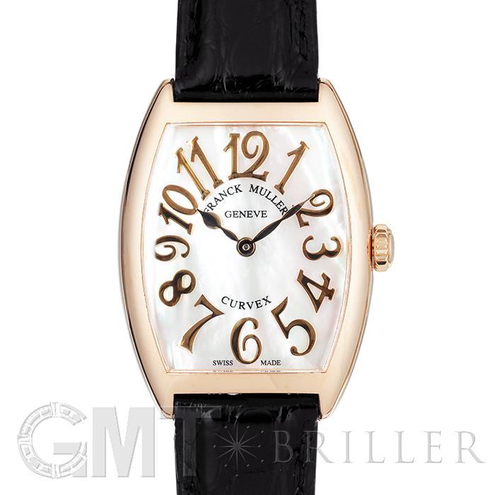 [最大3万円引き! 5/1]フランクミュラー 7502QZ トノーカーベックス ホワイトシェル PG 革 FRANCK MULLER新品レディース腕時計 送料無料
