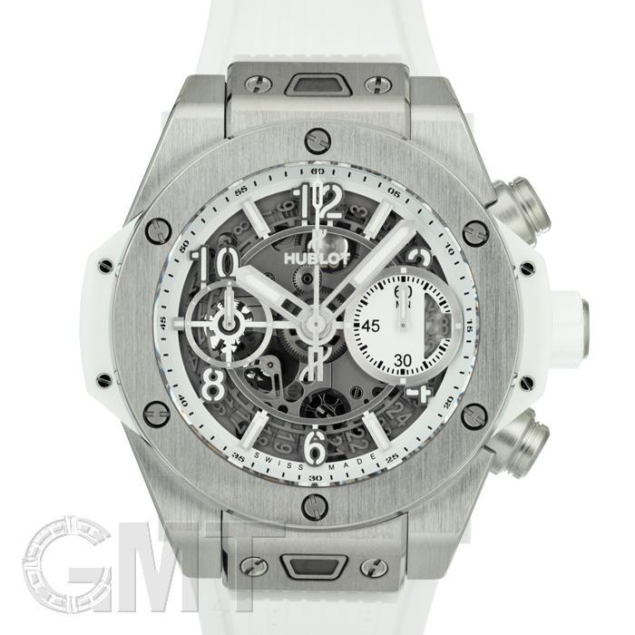 ウブロ ビッグバン ウニコ 42mm チタニウム ホワイト ラバー 441.NE.2010.RW HUBLOT 新品メンズ 腕時計 送料無料