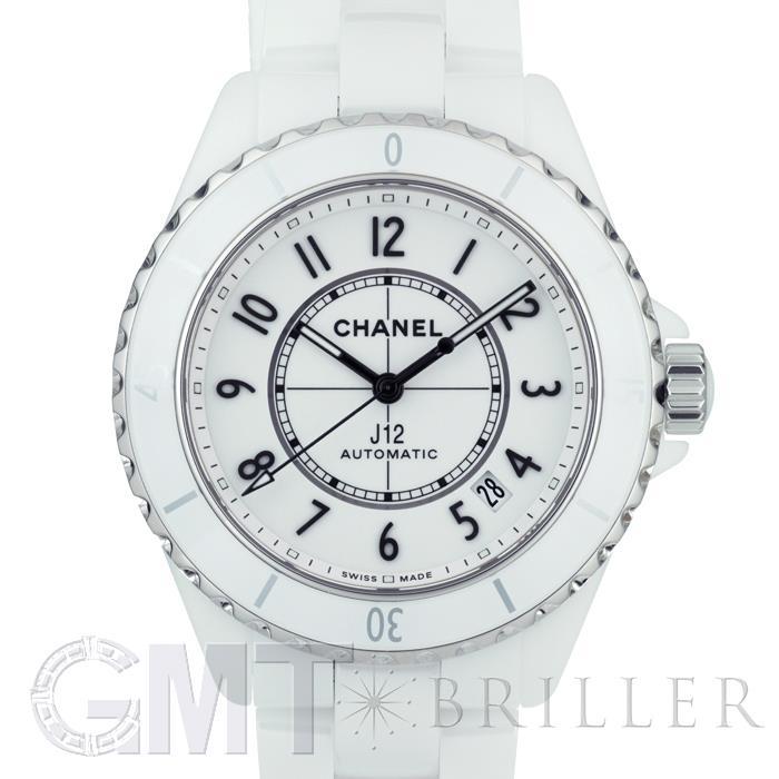 [最大3万円引き! 5/1]シャネル J12 H5700 ホワイト セラミック 38mm CHANEL新品メンズ腕時計 送料無料