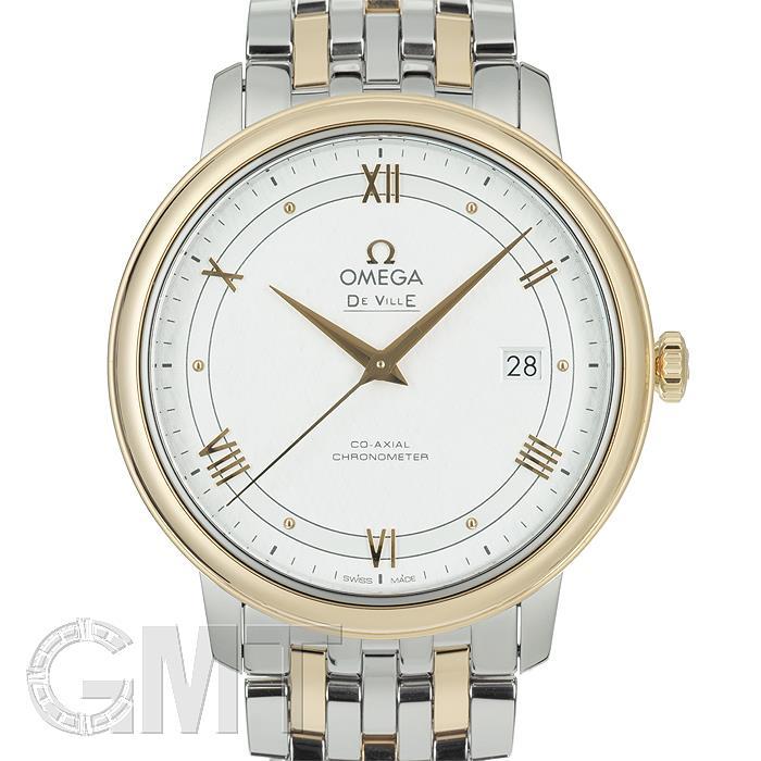 [最大3万円引き! 5/1]オメガ デ・ヴィル プレステージ 39.5MM SS/YG シルバー 424.20.40.20.02.001 OMEGA 新品メンズ 腕時計 送料無料