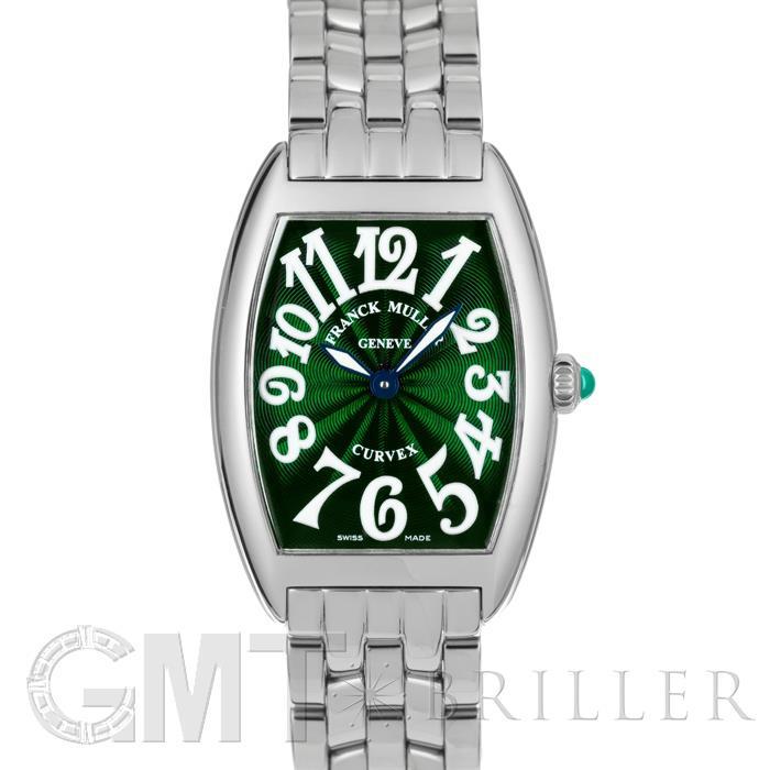 [最大3万円引き! 5/1]フランクミュラー トノーカーべックス 1752BQZ グリーン FRANCK MULLER新品レディース腕時計 送料無料