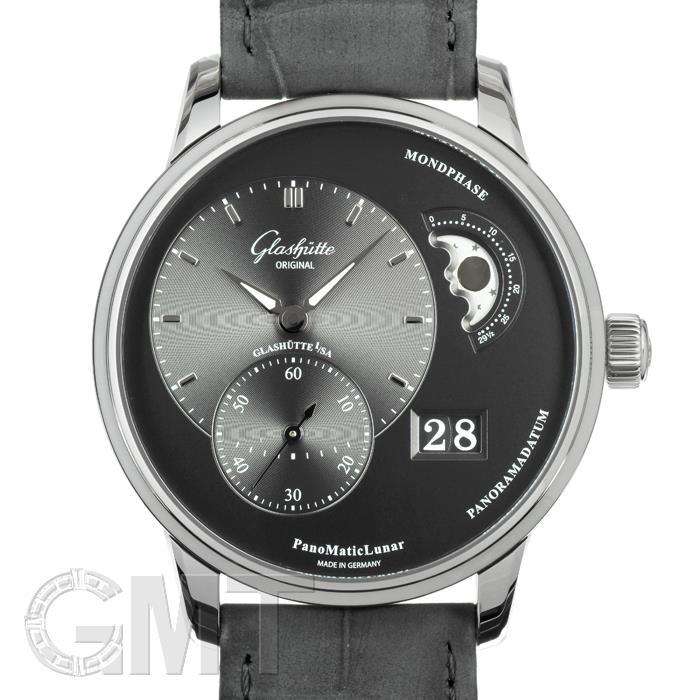 [最大3万円引き! 5/1]グラスヒュッテオリジナル パノマティック ルナ フォールディングバックル 1-90-02-43-32-05 GLASHUTTE ORIGINAL新品メンズ腕時計 送料無料