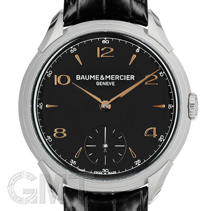 [最大3万円引き! 5/1]ボーム&メルシエ クリフトン 手巻き ブラック MOA10364 BAUME & MERCIER 新品メンズ 腕時計 送料無料 年中無休