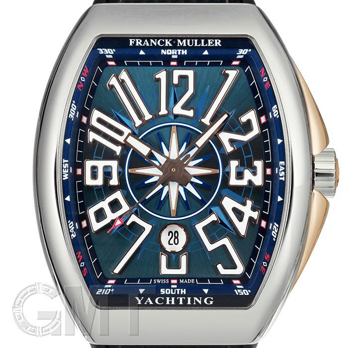 フランク・ミュラー ヴァンガード ヨッティング V45SCDT STG BL BC 5N FRANCK MULLER 新品メンズ 腕時計 送料無料