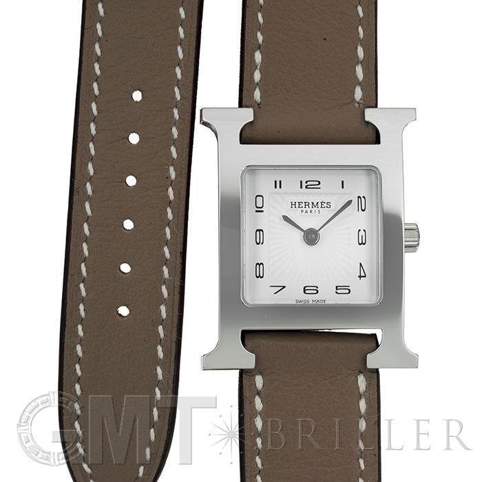 エルメス Hウォッチ ドゥブルトゥール ホワイトHH1.210.131/WW182(036714WW00) HERMES 新品レディース 腕時計 送料無料