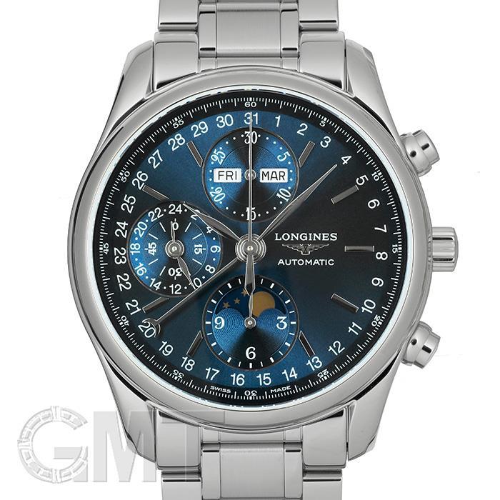 [最大3万円引き! 5/1]ロンジン マスターコレクション クロノグラフ ブルー L2.673.4.92.6 LONGINES 新品メンズ 腕時計 送料無料 _年中無休