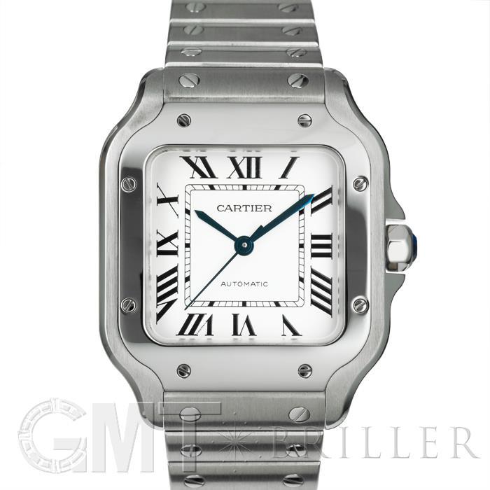 カルティエ サントス・ドゥ・カルティエ MM WSSA0010 CARTIER 新品ユニセックス 腕時計 送料無料 年中無休