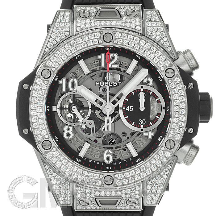 安いそれに目立つ ウブロ ビッグバン ウニコ パヴェ 42mm チタニウム HUBLOT 新品時計 腕時計 送料無料, 日本法令 4cde3886