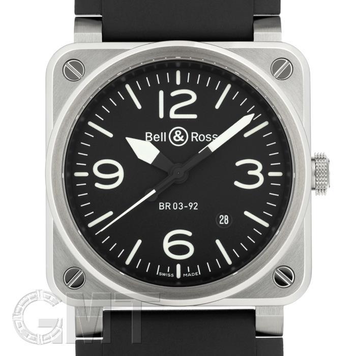 最大80%オフ! ベル&ロス アヴィエーション BR03-92 ブラック ラバー BELL & ROSS 新品メンズ 腕時計 送料無料, 快適style c8965ac7