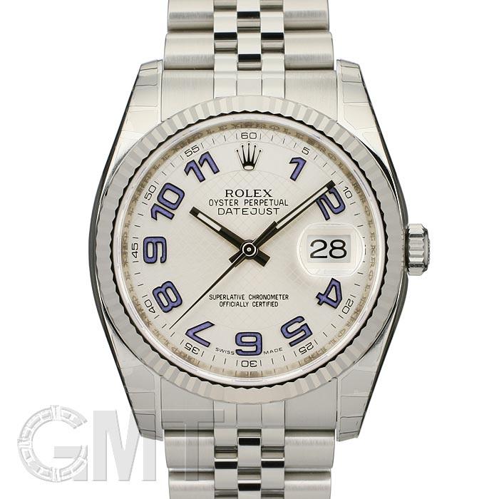 ROLEX ロレックス デイトジャスト Ref.116234 SV デコレートブルーアラビア 新品腕時計 メンズ 送料無料
