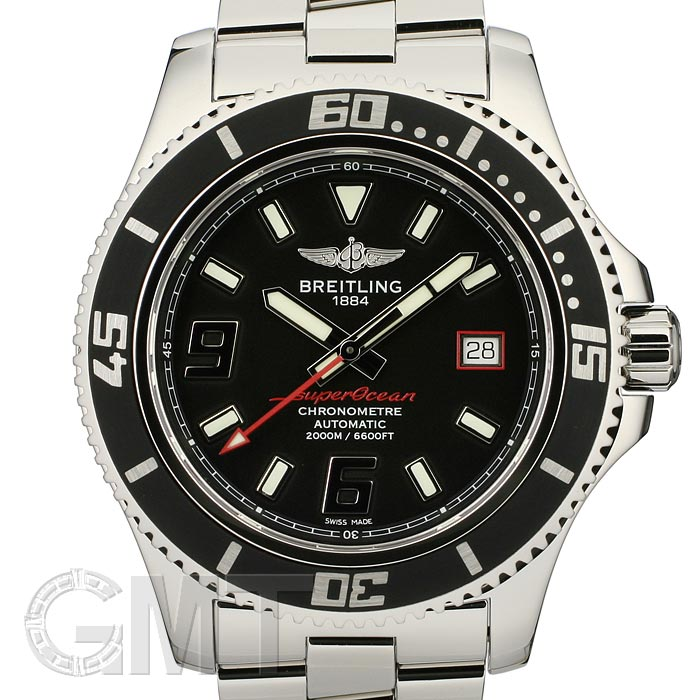 BREITLING ブライトリング スーパーオーシャン 44 アビスレッド A189B76PRS 新品腕時計 メンズ 送料無料