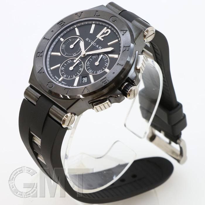quality design dc73e ed5dc BVLGARI Bvlgari Diagono ultranero chronograph black DG42BBSCVDCH
