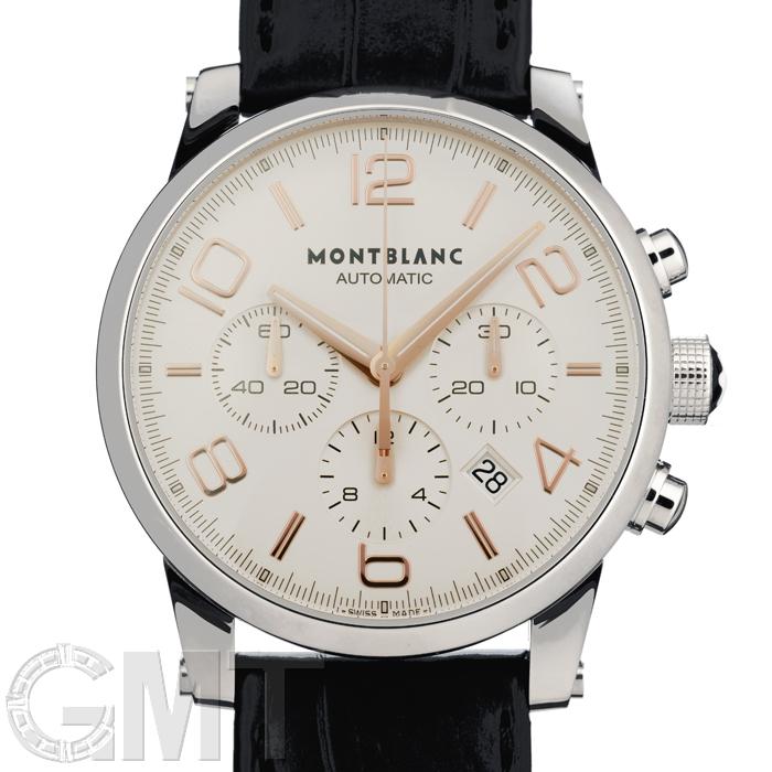 MONTBLANC モンブラン タイムウォーカー クロノグラフ オートマティック 101549 シルバー 新品 腕時計 メンズ 送料無料