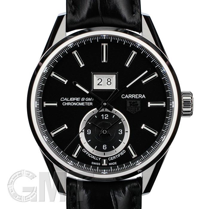 [最大3万円引き! 5/1]TAG HEUER タグ・ホイヤー カレラ グランドデイト GMT ブラック WAR5010.FC6266 新品腕時計 メンズ 送料無料