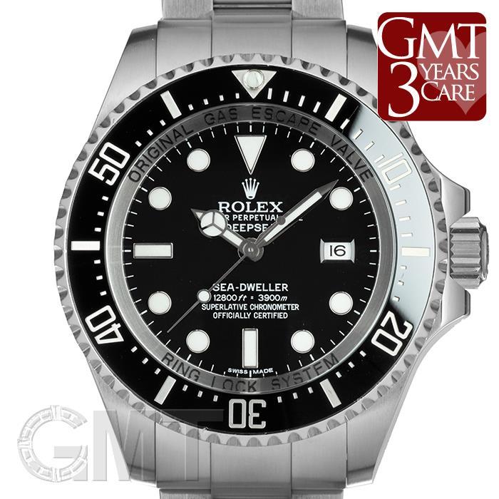 ロレックス ディープシー 116660 ブラック ROLEX 【中古】【メンズ】 【腕時計】 【送料無料】 【あす楽_年中無休】