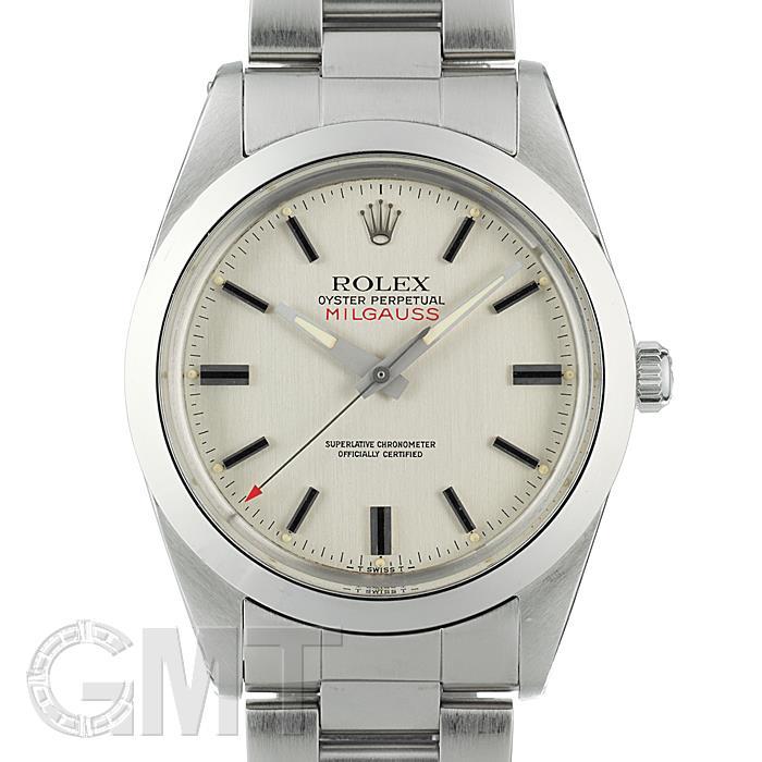 ロレックス ミルガウス 1019 シルバー ROLEX 【中古】【ユニセックス】 【腕時計】 【送料無料】 【あす楽_年中無休】