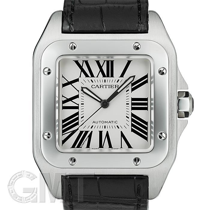 カルティエ サントス100 LM W20073X8 CARTIER 【中古】【メンズ】 【腕時計】 【送料無料】 【あす楽_年中無休】