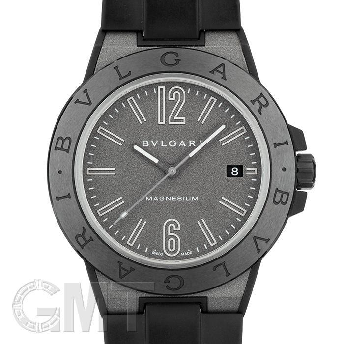 ブルガリ ディアゴノ マグネシウム DG41C14SMCVD ブラックラッカー BVLGARI 【中古】【メンズ】 【腕時計】 【送料無料】 【あす楽_年中無休】