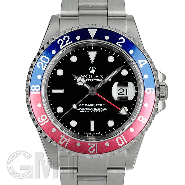 ロレックス GMTマスターII 16710 ブルー/レッド ROLEX 【中古】【メンズ】 【腕時計】 【送料無料】 【あす楽_年中無休】