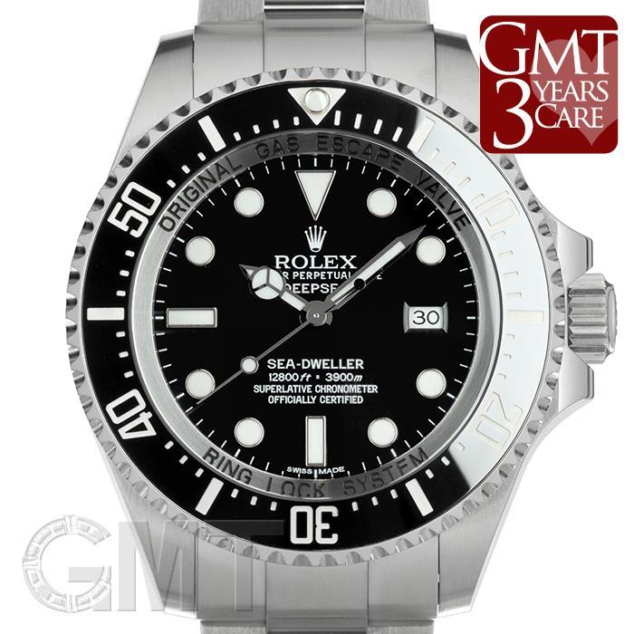 ロレックス シードゥエラー ディープシー 116660 ブラック ROLEX 【中古】【メンズ】 【腕時計】 【送料無料】 【あす楽_年中無休】