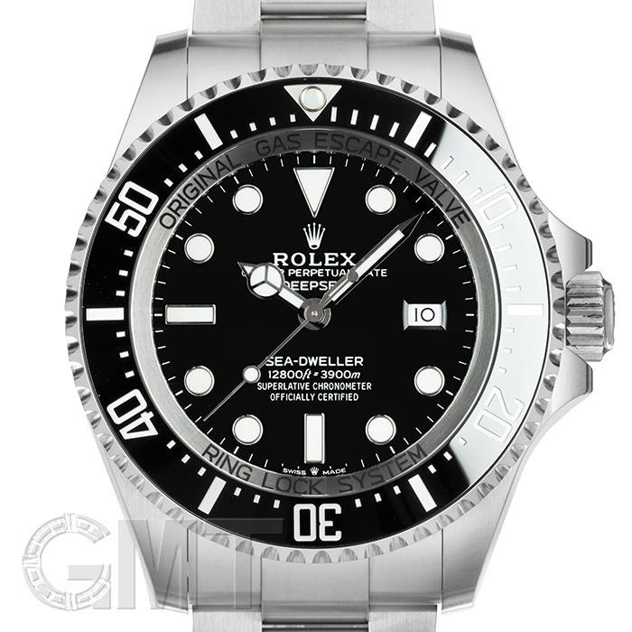 ロレックス シードゥエラーディープシー ブラック 126660 ROLEX 【中古】【メンズ】 【腕時計】 【送料無料】 【あす楽_年中無休】