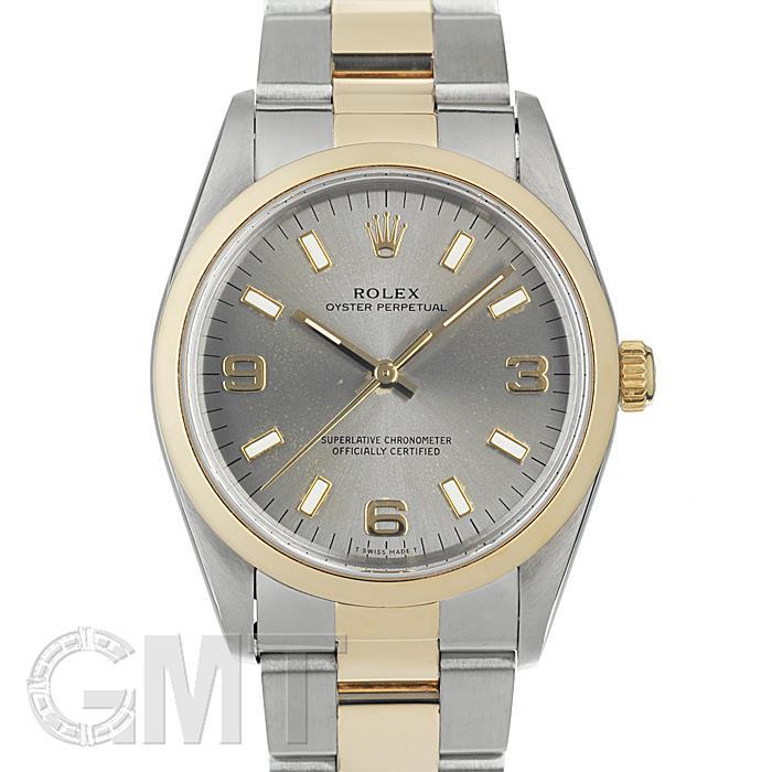 ロレックス オイスターパーペチュアル 14203 グレー ROLEX 【中古】【メンズ】 【腕時計】 【送料無料】 【あす楽_年中無休】