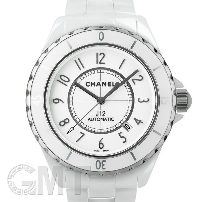 CHANEL シャネル J12 ホワイトセラミック 42mm H2981 CHANEL 【中古】【メンズ】 【腕時計】 【送料無料】 【あす楽_年中無休】