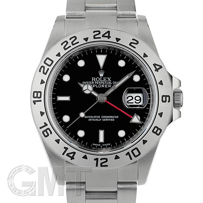 ロレックス エクスプローラー II 16570 ブラック ROLEX 【中古】【メンズ】 【腕時計】 【送料無料】 【あす楽_年中無休】