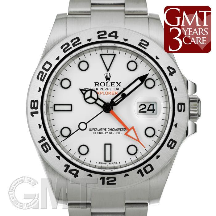 216570 ホワイト エクスプローラー II ROLEX 【中古】【メンズ】 【腕時計】 【送料無料】 【あす楽_年中無休】