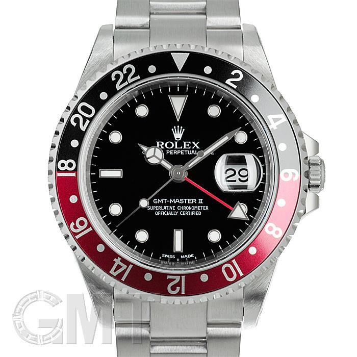 ロレックス GMTマスターII 16710 ブラック/レッド ROLEX 【中古】【メンズ】 【腕時計】 【送料無料】 【あす楽_年中無休】