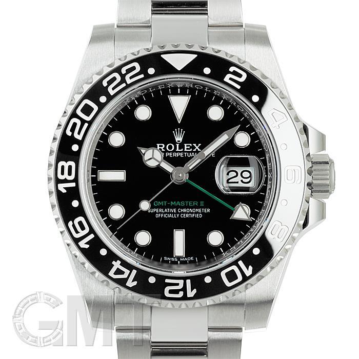 代引き人気 ロレックス GMTマスター II 116710LN ブラック ランダムシリアル ROLEX メンズ 腕時計 送料無料 年中無休, 石巻市 95bf4f74