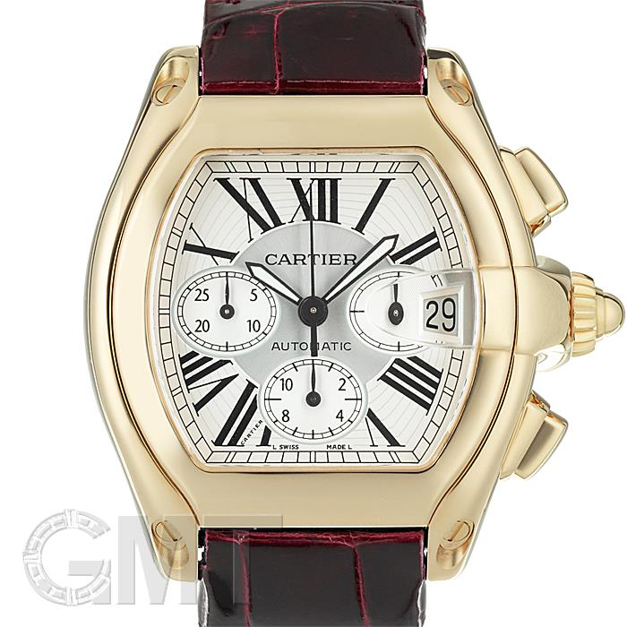 再再販! カルティエ ロードスター クロノグラフ W62021Y3 シルバー CARTIER メンズ 腕時計 送料無料, ブランド古着の買取販売STAY246 e0f07b24