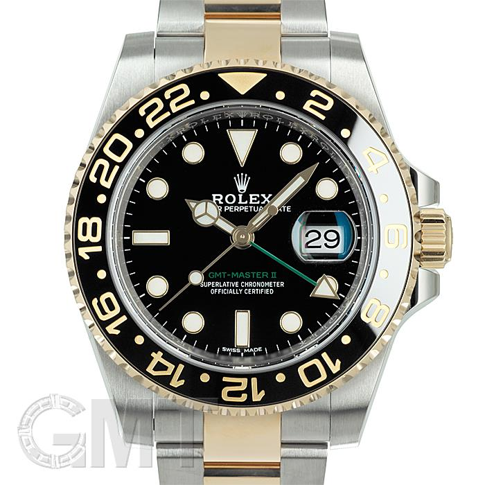 ロレックス GMTマスター II 116713LN ブラック ROLEX 【中古】【メンズ】 【腕時計】 【送料無料】 【あす楽_年中無休】