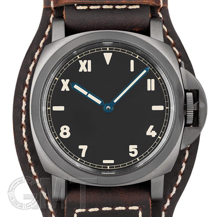 パネライ ルミノール カリフォルニア 8デイズ DLC 44MM PAM00779 OFFICINE PANERAI中古メンズ腕時計 送料無料