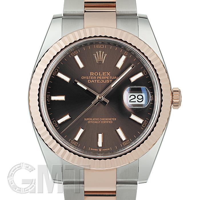 人気を誇る ロレックス デイトジャスト 41 126331 チョコレート オイスターブレス ROLEX メンズ 腕時計 送料無料, Treasure-Store e20e9c90