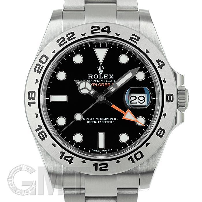 【絶品】 ロレックス エクスプローラー II 216570 ブラック ROLEX メンズ 腕時計 送料無料, 【同梱不可】 cc4574d4