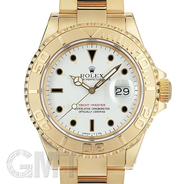 [最大3万円引き! 5/1]ロレックス ヨットマスター 16628 ホワイト 初期型 S番 ROLEX 中古メンズ 腕時計 送料無料