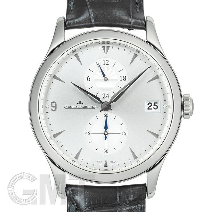[最大3万円引き! 5/1]ジャガールクルト マスター デュアルタイム Q1628430 JAEGER LECOULTRE 中古メンズ 腕時計 送料無料 年中無休